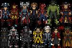Some Marvel Avengers