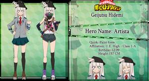 [BNHA Oc] Hidemi Character Sheet (old) by Derpy-in-Fandoms