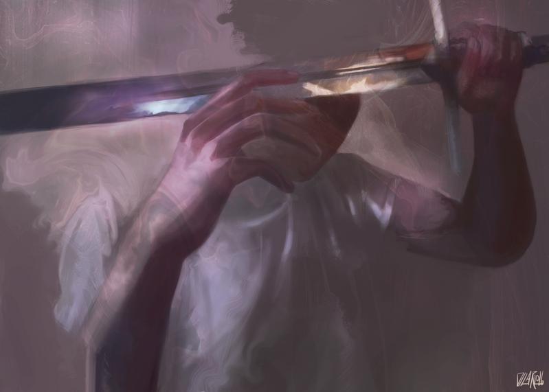 Sword Blind by JoeDiCarlo
