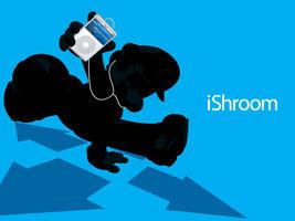 iShroom Mario Wallpaper by JAGDesign81