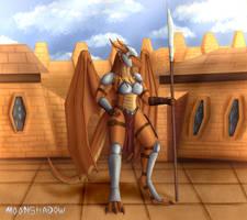 Atalla - the warrior lady