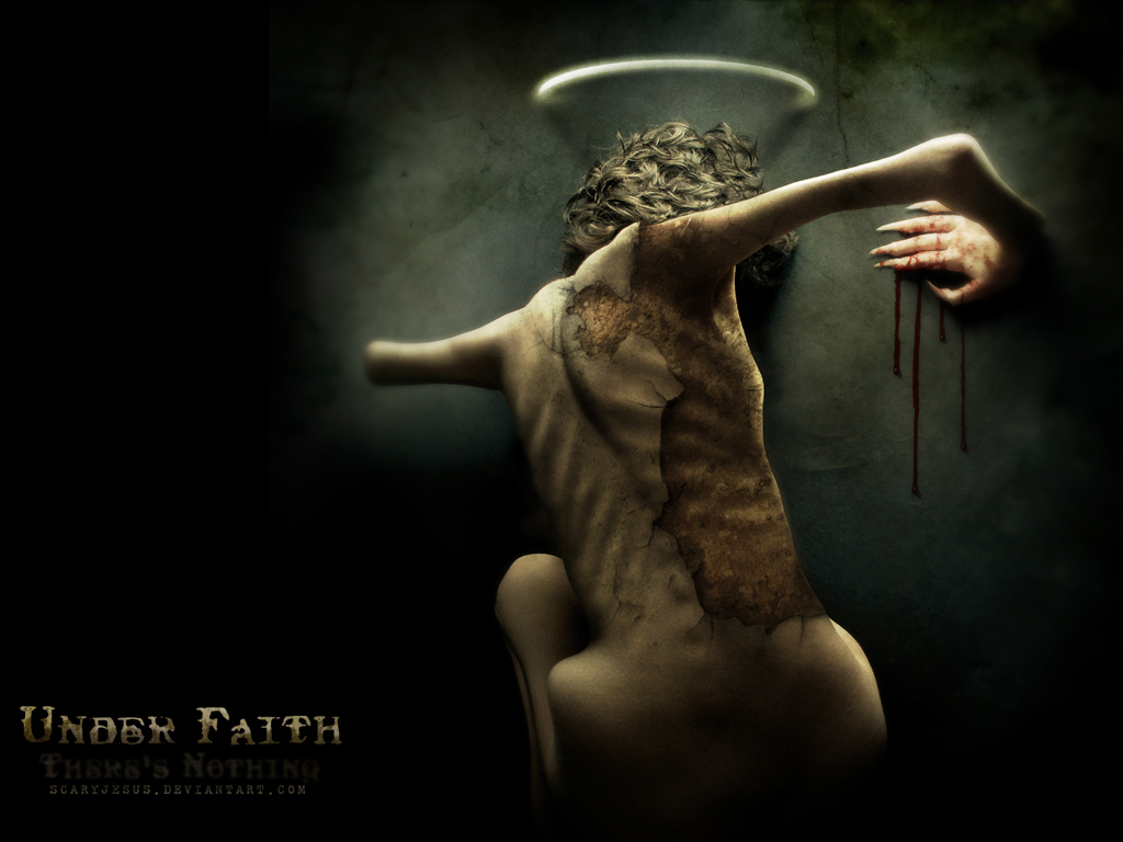 """Under Faith"" wallpaper by scarypaper"