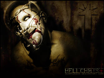 'HellChrist' wallpaper by scarypaper
