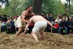 Medieval wrestling by Negra-Tashi