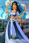 Esmeralda deluxe gown
