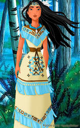 Pocahontas deluxe gown by LadyAmber
