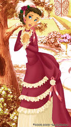 Jane deluxe gown by LadyAmber