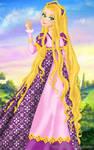 Rapunzel deluxe gown