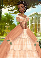 Tiana deluxe gown by LadyAmber