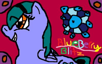 MLP DTA: BlueBerry Blitz by Chew253