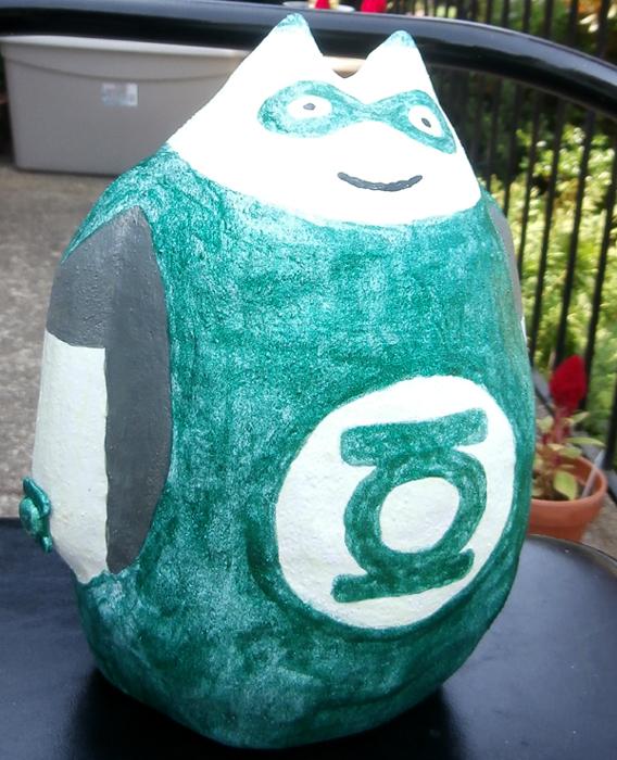 Green Lantern Totoro by joegaranger