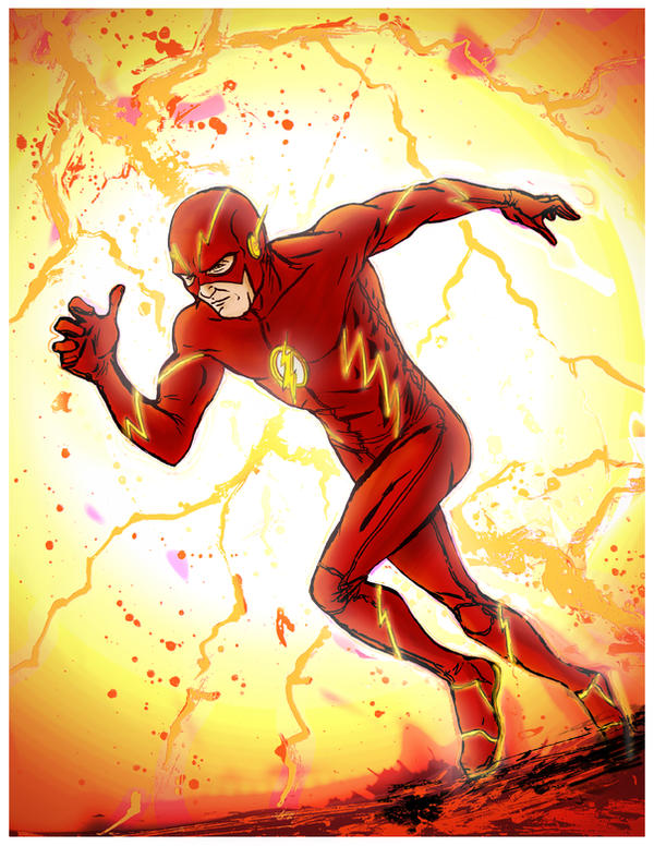 Flash Prints for Boston Comic Con by Mardoza