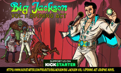 BIG JACKSON KICKSTARTER LIVE ON STAGE BUBBA! by Mardoza