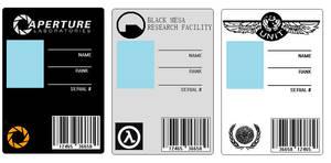ID Cards set 1 by BadWolf42
