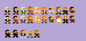 8-Bit Doctors and Masters