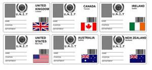 UNIT ID Badges