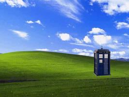 TARDIS XP Wallpaper by BadWolf42