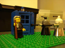 LEGO Doctor Who:One and Daleks by BadWolf42