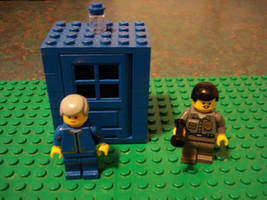LEGO Doctor Who:Three and Brig by BadWolf42