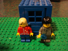 LEGO Doctor Who: Ten and Rose by BadWolf42