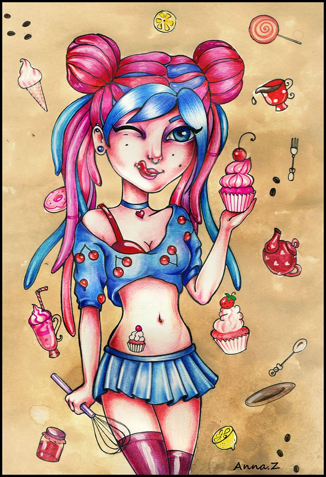 cupcake by Annika-Z