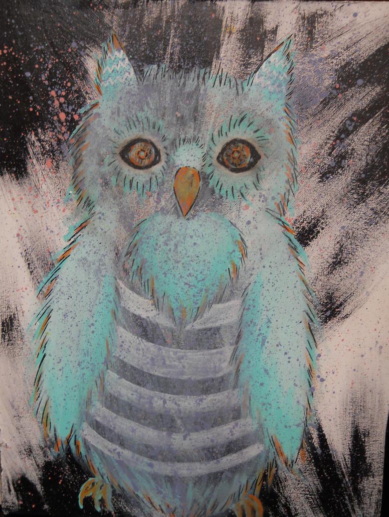 Ethereal Owl by Linnlynn