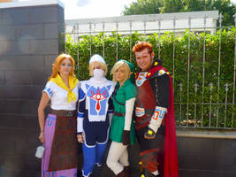 Ocarina of Time Cosplay Group by Lithium-Toxide