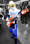 Sheik Rocks Out by Lithium-Toxide