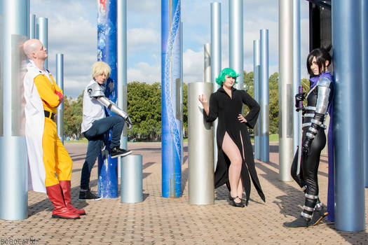 One Punch Man - Squad on Point