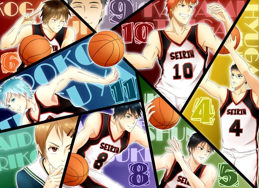 Seirin Team by FansyL