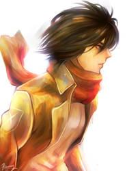 Mikasa Ackerman by FansyL