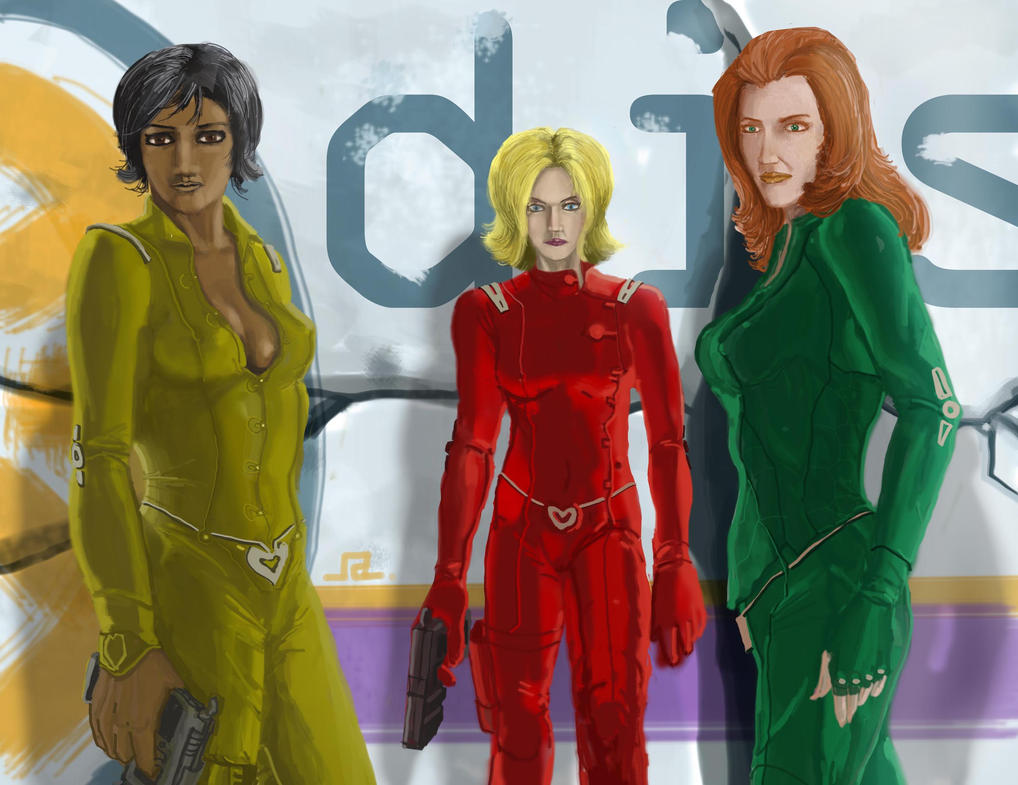 Totally spies by apronce on deviantart - Deguisement totally spies adulte ...