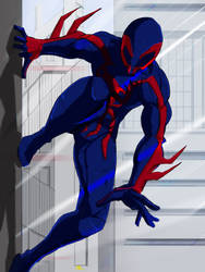 Spider-Man 2099 by apronce
