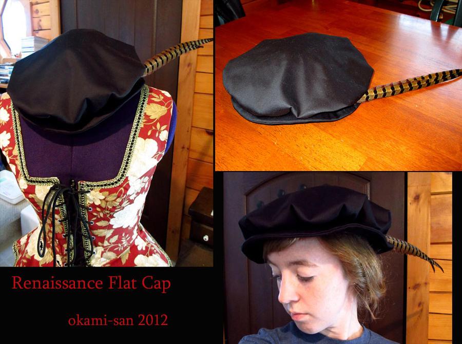 5a516e8653494 Renaissance Flat Cap by okami-san on DeviantArt