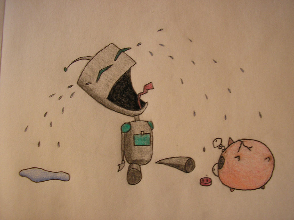 I Loved-ed You Piggy by okami-san