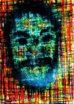 Digital ACEO 1: Myself