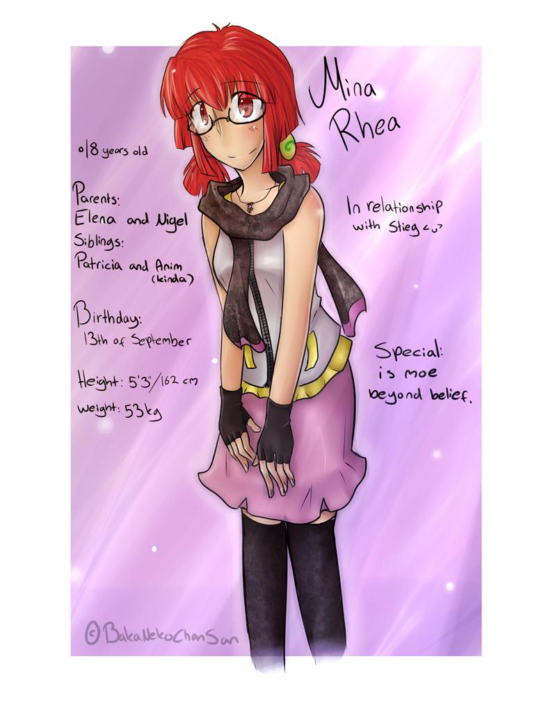-EP REBOOT- Mina Rhea by BakaNekoChanSan