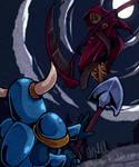 Shovel Knight vs Specter Knight