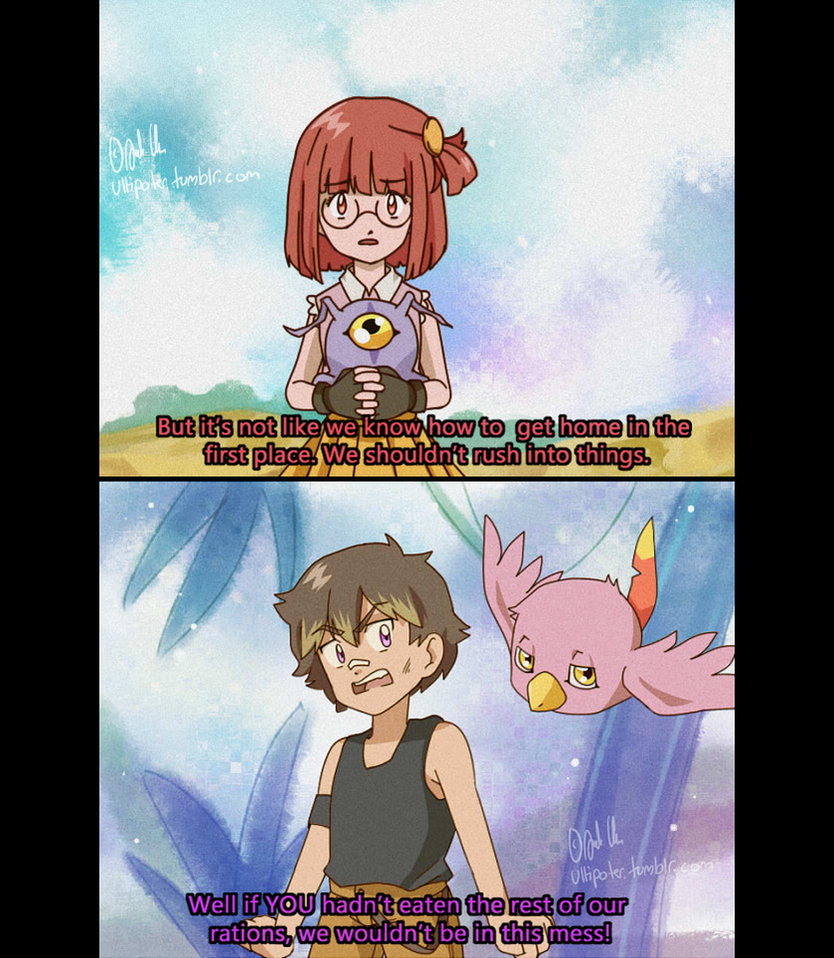 Digimon OC AU by Ultipoter