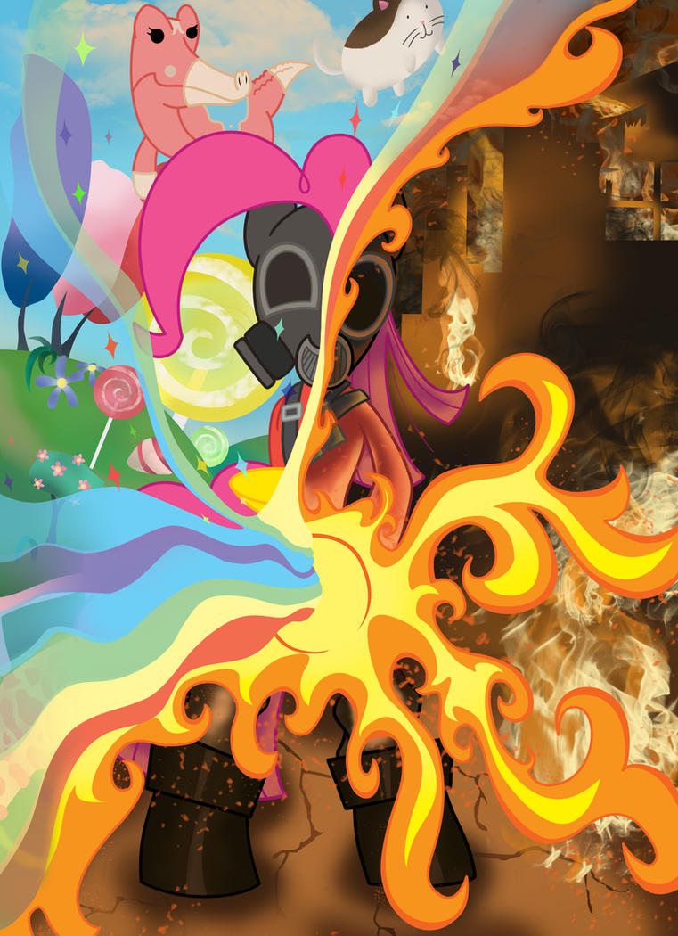 Pinkie Pie Pyro - Do You Believe In Magic by ArtObvious
