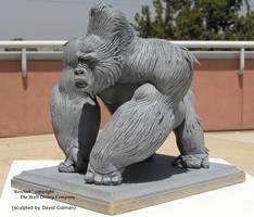 Kerchak Sculpt by davidsdoodles
