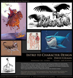 Character Design at CDA