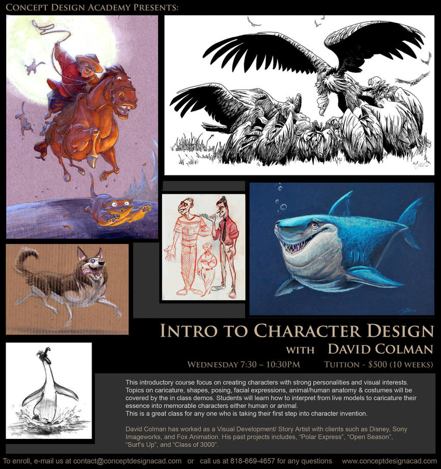 The Art Of Character Design With David Colman Volume I : Character design at cda by davidsdoodles on deviantart