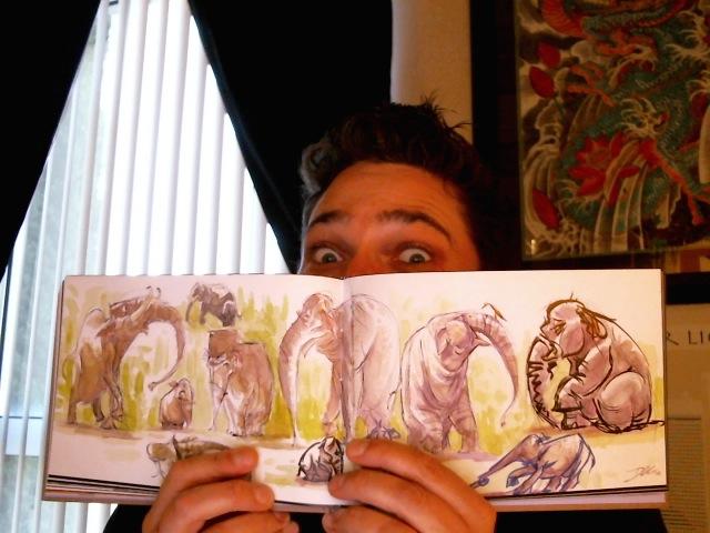 Doodles Vol3 Sample pages 2 by davidsdoodles