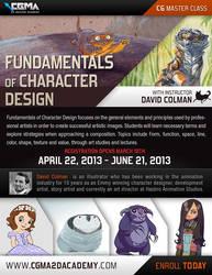 CGMA Online Class Fundamentals of Character Design by davidsdoodles