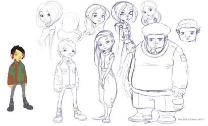 Development sketches by davidsdoodles
