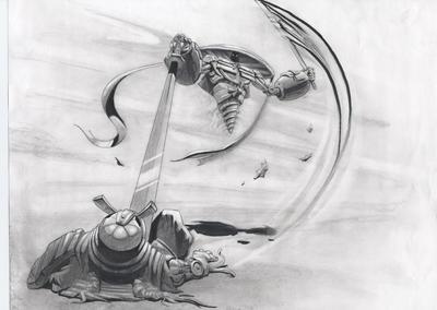 synthetic samurai 3 by davidsdoodles