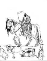 Death sketch by davidsdoodles