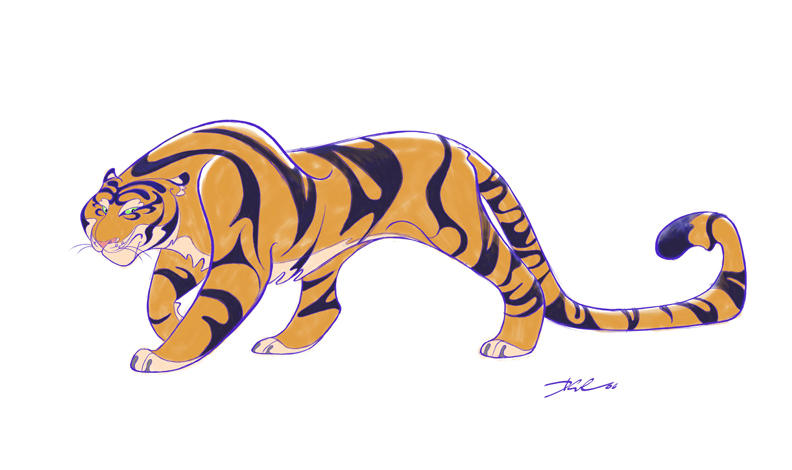 The Art Of Character Design With David Colman Volume I : Tiger class of by davidsdoodles on deviantart