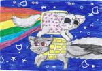 Nyan-Cat and Tac-Nyan